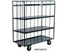 OPEN PORTABLE SHELF CART
