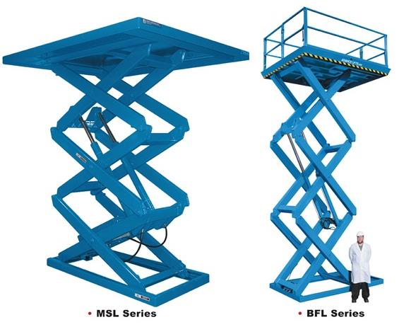 """MULTI-STAGE AND """"BIG FRIGGIN"""" SERIES LIFT TABLES"""